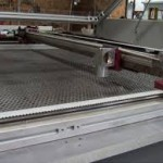 Industrial laser fabric cutting Thor system